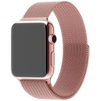 38mm Apple Watch Strap by Zonabel - Milanese Loop - Rose Gold