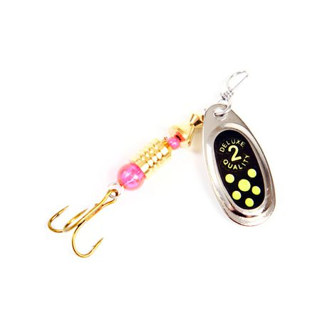 FishX 4-Piece Freshwater / Saltwater Fishing Lure Spinner