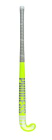 "Princess ID1 Snr Indoor Wood Hockey Stick 37.5"" Lumo Yellow"