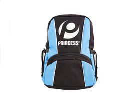 Princess Backpack Black and sky Blue