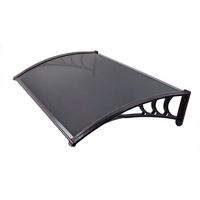 Infinity Polycarbonate Awning 1.2 X 1.0M (Bronze Clear Sheet)