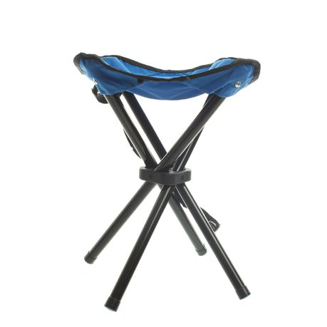 Phenomenal Campground Perch Folding Chair Blue Buy Online In South Machost Co Dining Chair Design Ideas Machostcouk