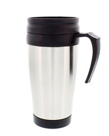Campground Stainless Steel Travel Mug With Handle
