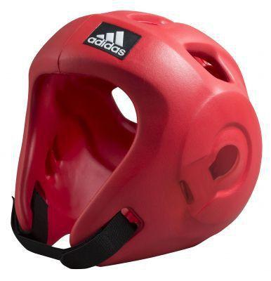 adidas Adizero Moulded Head Gear Red (Size: S)