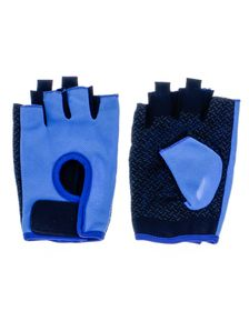 GetUp Kontact PU Colour Pop Gym Gloves - Blue (Size: XL)