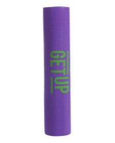 GetUp Mantra PVC Yoga Mat 6mm - Purple