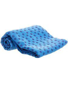 GetUp Aum Yoga Towel - Blue
