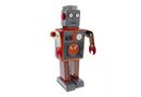 Kalabazoo Vintage Tin Toy Robot - Grey