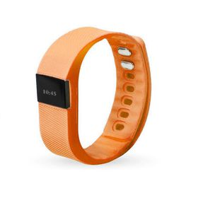 Smart Fitness Watch Band TW64 - Orange