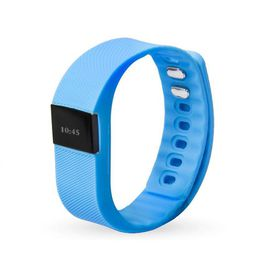 Smart Fitness Watch Band TW64 - Blue