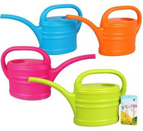 "Bulk Pack 4 x ""Garden Monsters"" Kids Water Can 600ml In Assorted Colours"