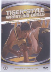Tiger Style Wrestling Drills-On Your Feet - (Import DVD)