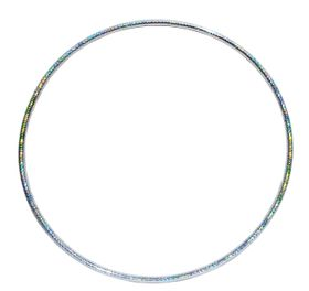 Hula Hoop no.15 in Silver (Size: 100cm)