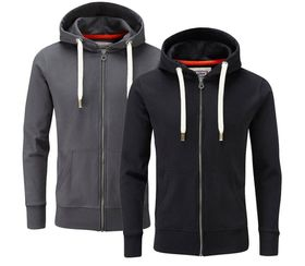 Charles Wilson Originals Hoody - Two Pack Saver - Black & Charcoal