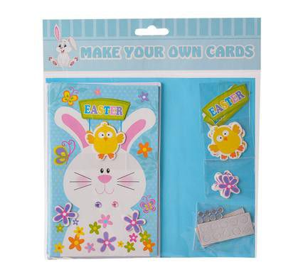 Bulk Pack 4 X Make Your Own Easter Cards With Envelopes – Make Your Own Easter Cards