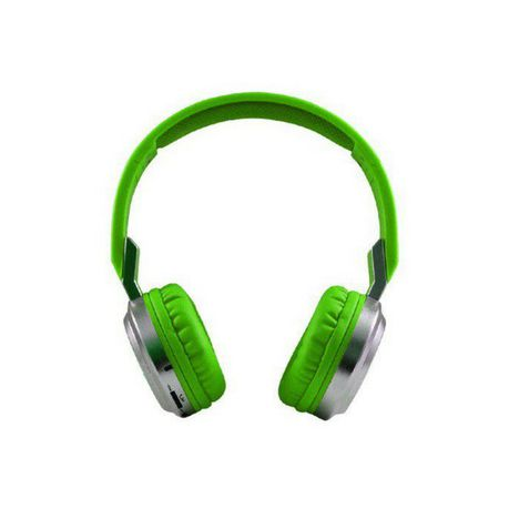 8f2c0429e72 Bluetooth Headphones KB-3800 (Green) | Buy Online in South Africa ...