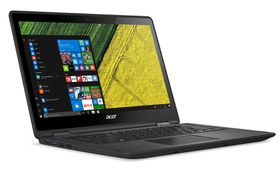 "Acer Spin 5 FHD Multi-Touch i7-7500U 13.3"" Notebook - Black"