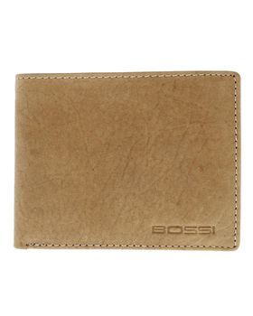 Bossi Hunter Leather Small Billfold - Tan