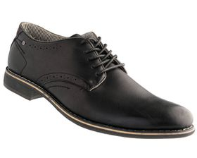 Howza Men's Casual Lace Up MWE17031 - Black