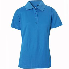 Swagg Ladies Basic Technical Golfer - Bright Blue