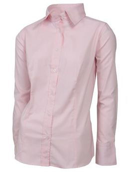 Swagg Ladies Long Sleeve Blouse - Pink