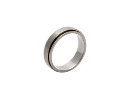 Genuine Titanium 6mm Men's Wedding Band
