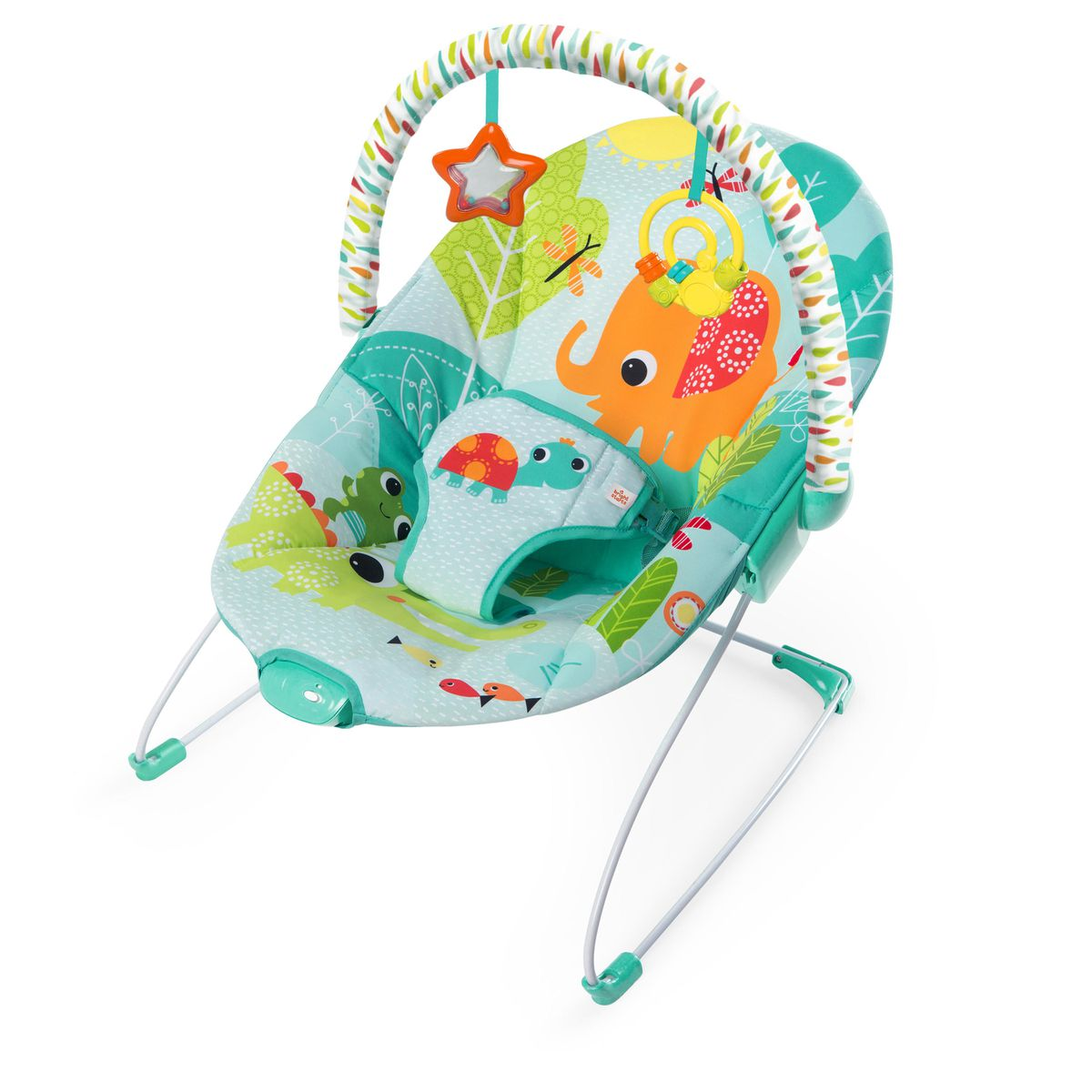 Bright Starts - Vibrating Bouncer - Raindrop Rainforest | Buy Online ...