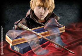 Ron Weasley's Wand in Ollivanders Box (Parallel Import)