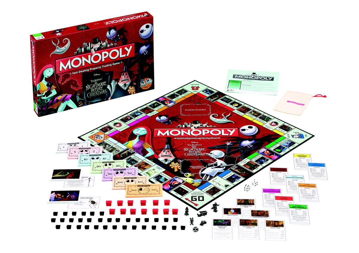 Monopoly - Nightmare Before Christmas | Buy Online in South Africa ...