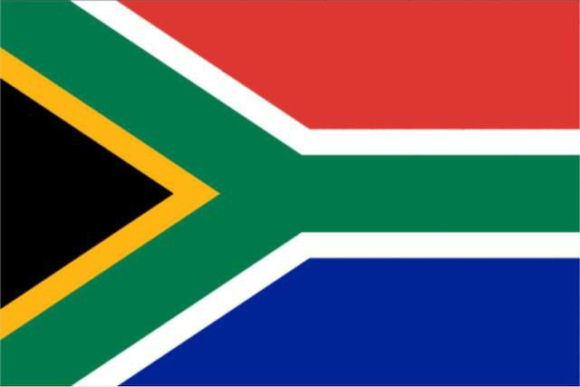 south african flag  0 9m x 1 5m