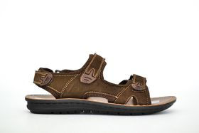 Grasshoppers Velcro Sandal - Coffee
