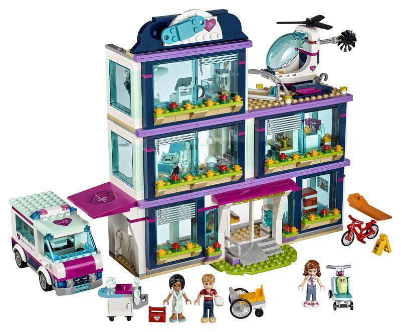 Lego Friends Lego® Friends Heartlake Hospital - 41318 | Buy Online ...