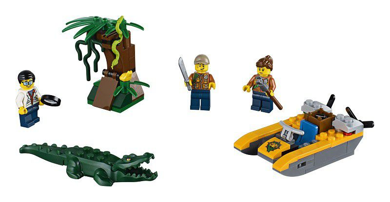Lego City Lego® City In/out 2018 Jungle Starter Set - 60157   Buy ...