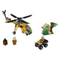 LEGO® City In/Out 2019 Jungle Cargo Helicopter - 60158