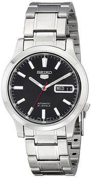 Seiko Men's SNK795 Seiko 5 Automatic Stainless Steel Watch with Black Dial (Parallel Import)