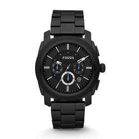 Fossil Men's FS4487 Machine Chronograph Black Stainless Steel Watch (parallel import)
