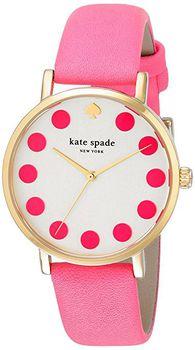 Kate Spade New York Women's 1YRU0770 Metro Dot Pink Watch (parallel import)