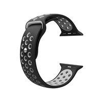 Sport Strap For Apple Watch - Black & Grey (42mm)