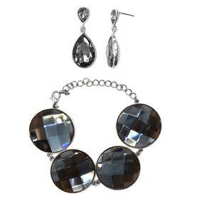 Bella Bella Teardrop Earring Bracelet (TBS025)
