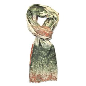 Lily & Rose Green Colour Fashion Scarf