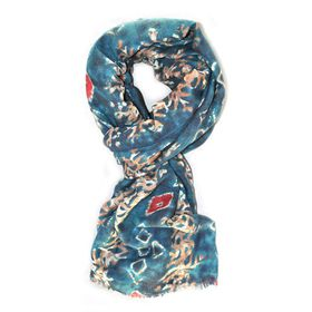 Lily & Rose Blue Based Fashion Scarf