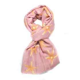 Lily & Rose Light Weight Pink Scarf