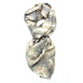 Lily & Rose Aztec Grey Toned Scarf
