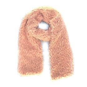Lily & Rose Light Pink Faux Scarf