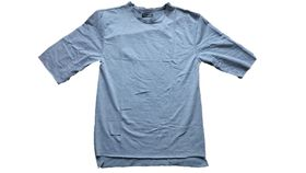 The Change Room Oversized Top with Rip Detail - Grey