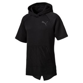 Men's Puma WinTech Fleece Short Sleeve Hoodie