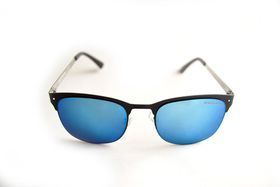 "Lentes & Marcos ""La Elipa"" UV400 Mirrored Club Master Sunglasses"