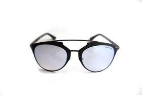 "Lentes & Marcos ""Carpetana"" Polarised Mirrored Cat-Eye Sunglasses"