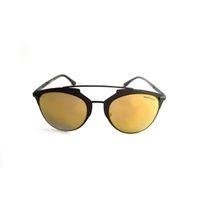 "Lentes & Marcos ""Carpetana"" Polarised Purple Mirrored Cat-Eye Sunglasses"