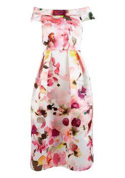 Closet London - Off the Shoulder Lined Dress